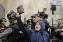 Les violences se poursuivent sur l'esplanade des Mosquées