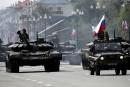 Sept chars russes observés en Syrie
