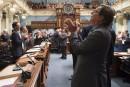 Applaudissements: jour de première à l'Assemblée nationale