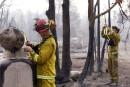 Les pompiers californiens épuisés par les incendies monstres