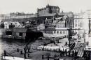 La place des Canotiers vers 1899-1915