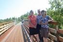 Un nouveau pont pour vélos à Magog
