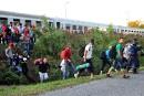 1200 migrants passent en Hongrie en moins d'une heure