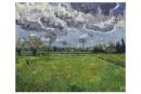 Ce paysage peint par Vincent van Gogh en 1889, un... | 21 septembre 2015