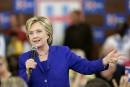 Clinton promet un bras de fer avec l'industrie pharmaceutique