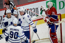 Maple Leafs 2 - Canadien 1 (final)