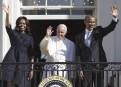 Le pape François est arrivé le 23 septembre à la... | 23 septembre 2015