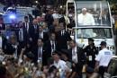 Le pape François, accueilli en star à New York