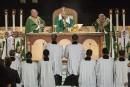 Au Madison Square Garden, le pape célèbre l'espérance