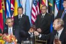 Obama et Poutine trinquent... sans l'ombre d'un sourire