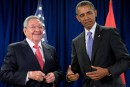 Barack Obama rencontre Raúl Castro à New York