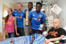 L'Impact redonne le sourire aux enfants malades