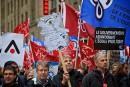 Des milliers d'enseignants ont manifesté à Montréal