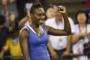Venus Williams accède à la finale à Wuhan