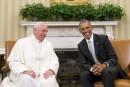 Obama fait l'éloge du pape François: «Un homme bon»