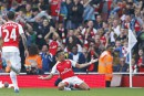 Arsenal domine Manchester United