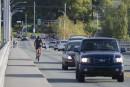 Une piste cyclable envisagée sur le pont Jacques-Cartier