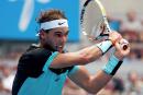 Rafael Nadal a le meilleur sur Vasek Pospisil