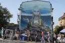 Le street art à l'assaut des murs de Kiev