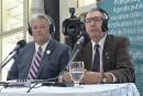 Débat électoral: Dauphin met en doute l'étude de l'UdeS sur l'aéroport