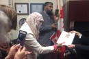 Zunera Ishaq prête serment en niqab
