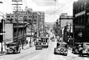 La rue de la Couronne en 1920