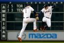 Les Astros en avance dans la série face aux Royals
