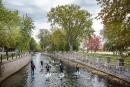 Rejet d'eaux usées: ils expriment leur désaccord à coups de rames