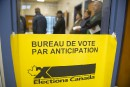 Forte augmentation du vote par anticipation