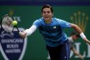 Shanghai: Raonic et Pospisil avancent, Federer tombe
