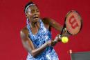 Venus Williams franchit le premier tour à Hong Kong