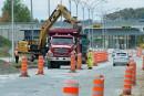 Les travaux reprennent sur le boulevard de l'Université