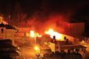 Des Palestiniens incendient un lieu sacré juif