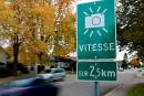 Nouveaux radars photo à Québec:les premiers <i>flashs</i> dès lundi