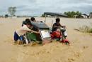 Le typhon <em>Koppu</em> fait 16 morts auxPhilippines