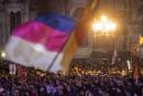 Imposante manifestation anti-réfugiés à Dresde