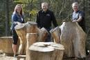 Des meubles de bois dictés par la nature