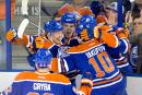 Connor McDavid marque dans un gain des Oilers