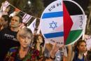 Des milliers d'Israéliens manifestent pour la paix avec les Palestiniens