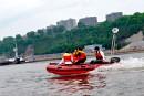 Le bateau-taxi pour se rendre au boulot