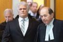Yves «Colosse» Plamondon face au juge De La Sablonnière