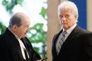 «Colosse» Plamondon et le juge De La Sablonnière se retrouvent après 28ans