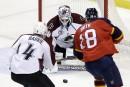 Les Panthers battent l'Avalanche 4-1