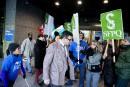 Grève: Coiteux dénonce des actes «inacceptables»
