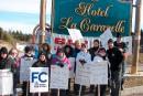 Baie-Comeau: en grève pour se faire parler en français au travail