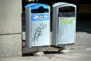 Le Vieux-Québec retourne aux «vieilles poubelles»