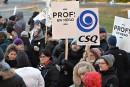 Grève dans les écoles: les heures d'enseignement perdues