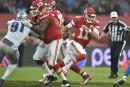 Résumé NFL: les Chiefs écrasent les Lions 45-10 à Londres