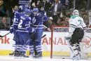 Les Maple Leafs remportent un premier match à domicile
