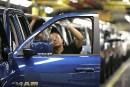Fort bond des ventes d'automobiles aux États-Unis